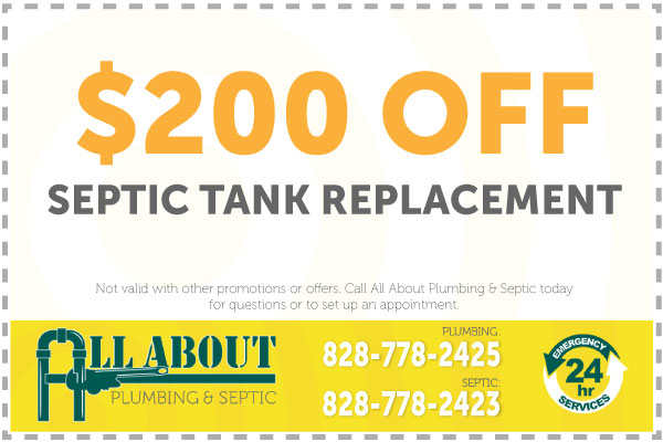 $200 Off Leachfeld Replacement Coupon