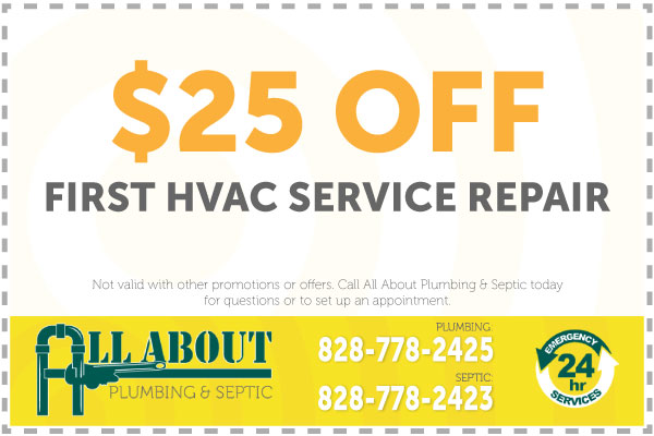 $25 Off First HVAC Service Repair Coupon