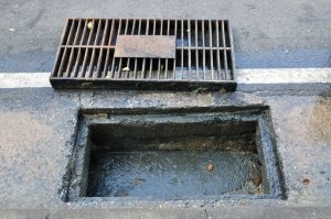 Clogged Sewer
