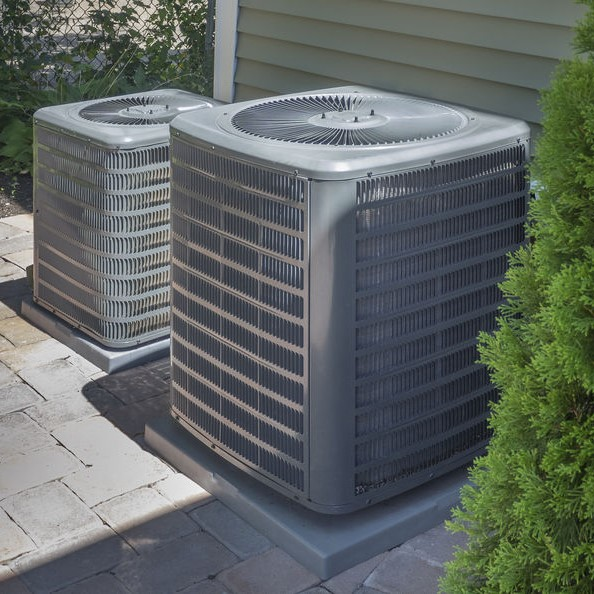 HVAC systems outdoors