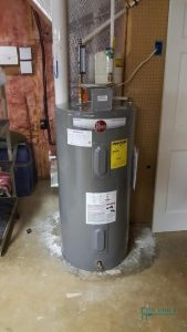A Picture of a Rheem Water Heater