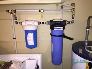 A Picture of a Whole House Filtration System