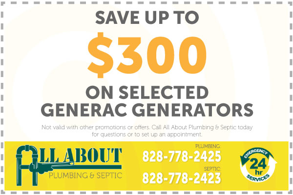 Save up to $300 on selected Generac Generators Coupon