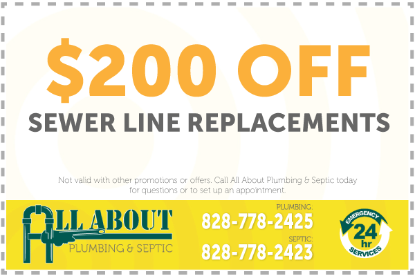 $200 Off Water Service Replacement Coupone
