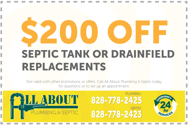 $200 Off Septic Tank or Drainfeld Coupon