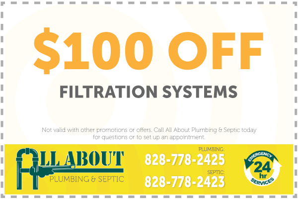 $100 Off Filtration Coupon