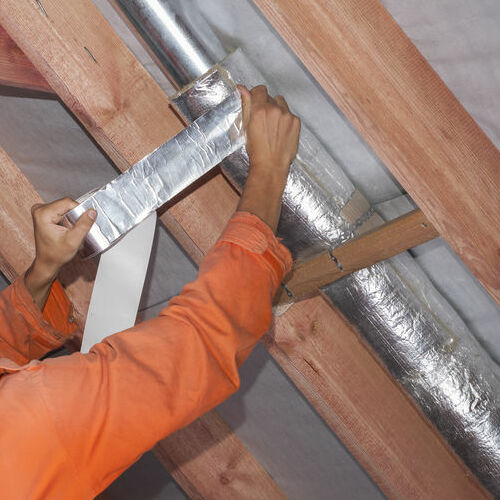 An air flow test and air duct repairs can help improve your HVAC efficiency and output.