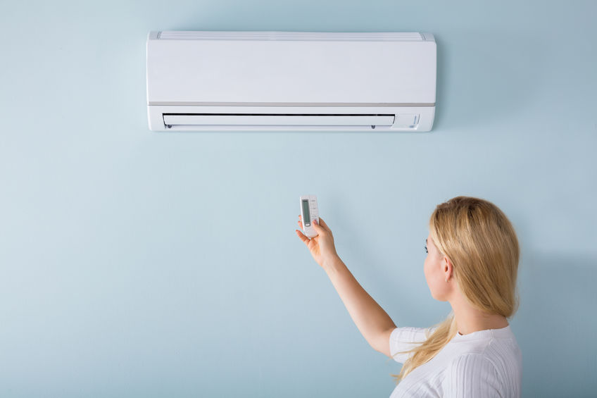 Inside Air Conditioner System